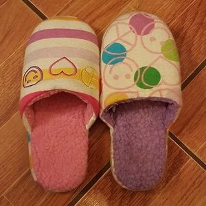 Littlemismatched Girls Slippers